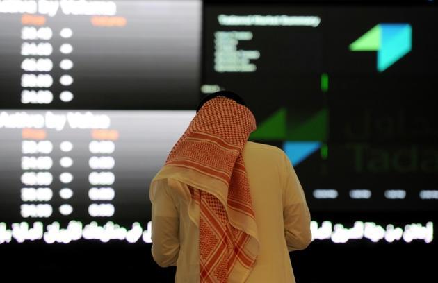 Photo d'archives prise à la Bourse d'Arabie saoudite, à Ryad, le 15 juin 2015 [Fayez Nureldine / AFP/Archives]