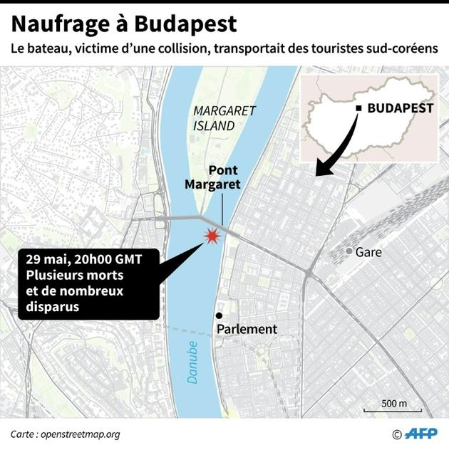 Naufrage à Budapest [Laurence CHU / AFP]