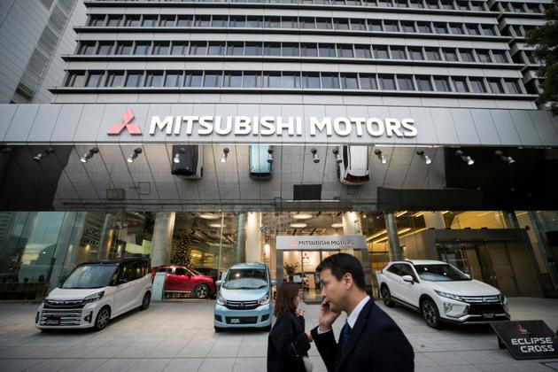 Le siège de Mitsubishi Motors à Tokyo, le 20 novembre 2018 [Behrouz MEHRI / AFP]
