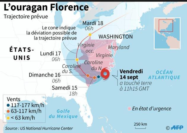 L'ouragan Florence [AFP / AFP]