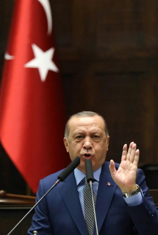 Le président turc Recep Tayyip Erdogan a une nouvelle fois appelé appelé Ryad à identifier les commanditaires de l'assassinat de Jamal Khashoggi, le 30 octobre 2018 [ADEM ALTAN / AFP]