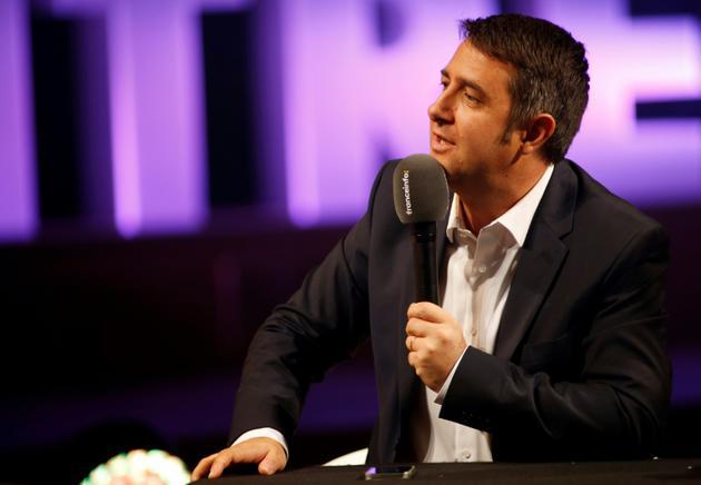 Laurent Guimier lors d'une conférence de presse à Paris, le 31 août 2016 [MATTHIEU ALEXANDRE / AFP/Archives]