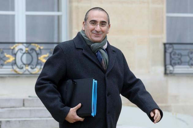 Le secrétaire d'État à l'Intérieur, Laurent Nuñez, le 6 février 2019 à la sortie du conseil des ministres à Paris [LUDOVIC MARIN / AFP/Archives]