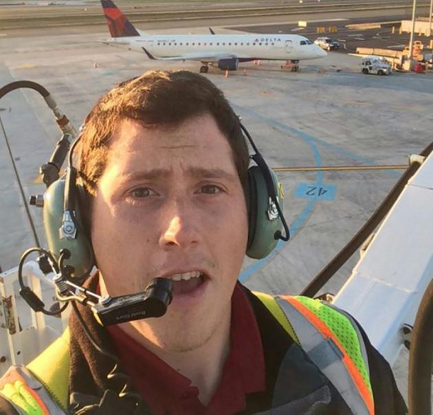 Un selfie non daté de Richard Russell disponible sur les réseaux sociaux le 11 août 2018 [- / Social Media/AFP/Archives]