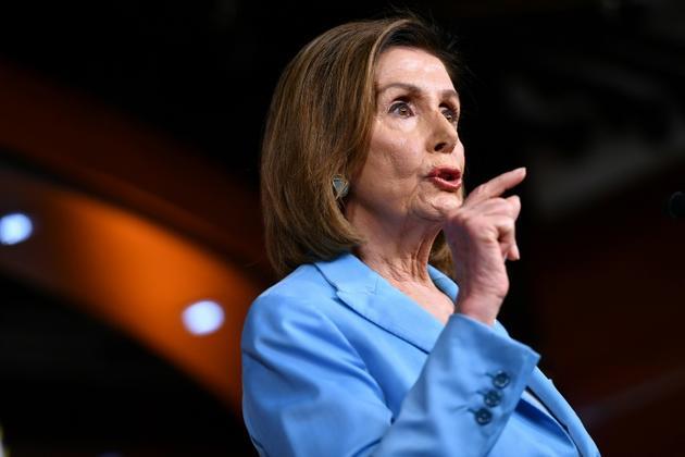 La présidente démocrate de la Chambre des représentants, Nancy Pelosi, le 2 octobre 2019 à Washington [MANDEL NGAN / AFP]