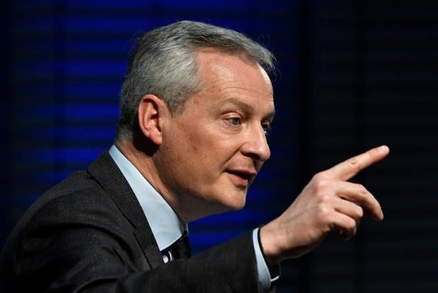 Le ministre de l'Economie Bruno Le Maire, à Berlin, le 19 février 2019 [John MACDOUGALL / AFP/Archives]