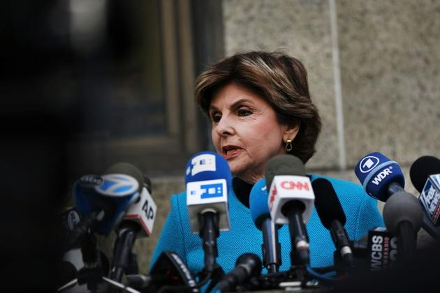 L'avocate Gloria Allred, le 26 août 2019 à New York [SPENCER PLATT / GETTY IMAGES NORTH AMERICA/AFP]