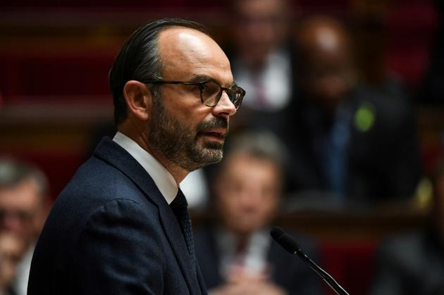 Edouard Philippe, à l'Assemblée nationale le 5 décembre 2018 [Alain JOCARD / AFP]
