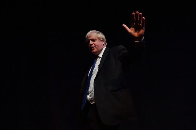 L'ancien ministre des Affaires étrangères Boris Johnson à Birmingham (centre de l'Angleterre) le 2 octobre 2018. [Ben STANSALL / AFP]
