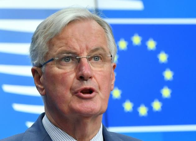 Le négociateur en chef de l'Union européenne pour le Brexit, Michel Barnier, le 19 mars 2019 à Bruxelles [EMMANUEL DUNAND / AFP/Archives]