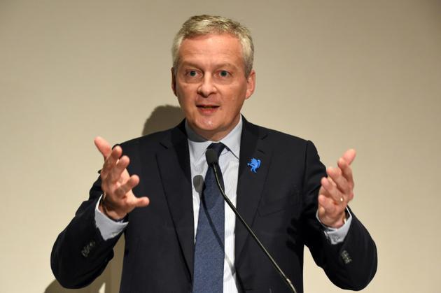 Le ministre de l'Economie Bruno Le Maire, le 12 juin 2018 à Paris [ERIC PIERMONT / AFP/Archives]