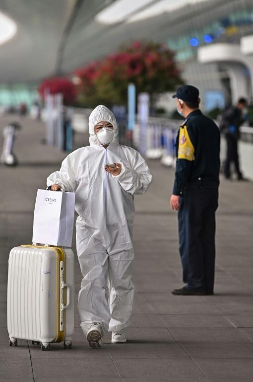 La Chine annonce 97 nouveaux «cas importés» de contamination au nouveau coronavirus