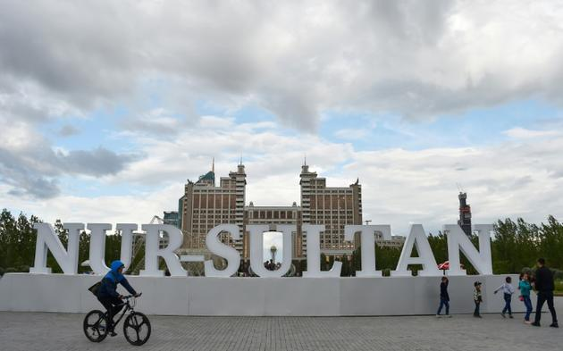 Kassym-Jomart Tokaïev a renommé la capitale kazakhe, Astana, Nur-Sultan en l'honneur de son mentor [Vyacheslav OSELEDKO / AFP/Archives]