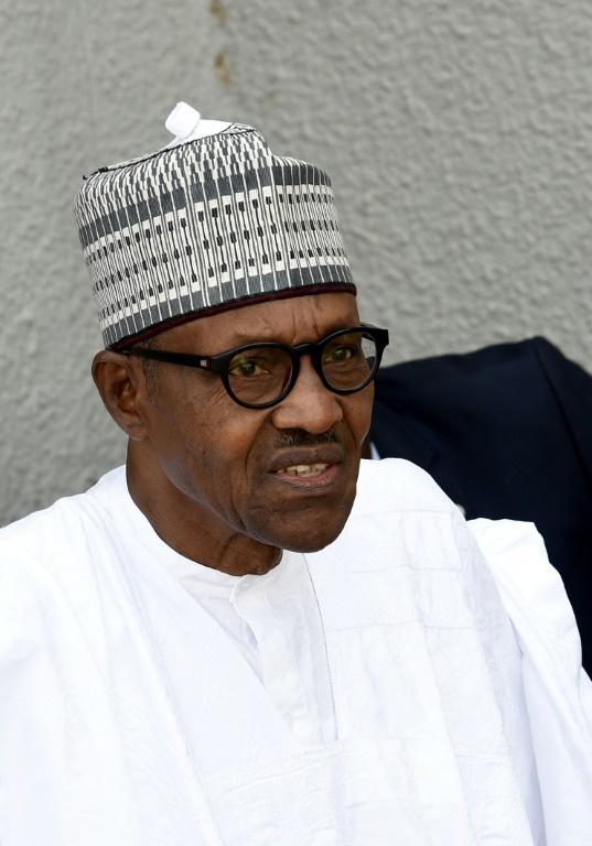 Le président sortant du Nigéria et candidat à la présidentielle pour le du Congrès des progressistes (APC), Mohammadu Buhari, à Daura, le 15 février 2019 [PIUS UTOMI EKPEI / AFP]