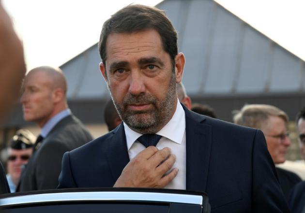 Le ministre de l'Intérieur Christophe Castaner, le 16 october 2018 à Fosses [Bertrand GUAY / AFP/Archives]