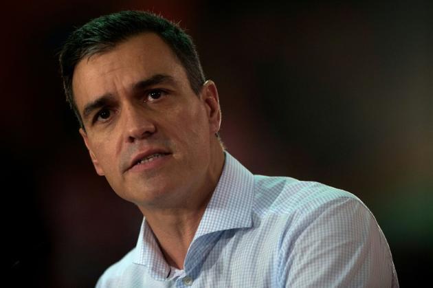 Le Premier ministre espagnol Pedro Sanchez [JORGE GUERRERO / AFP/Archives]