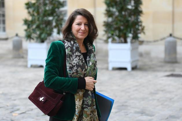 La ministre de la Santé Agnes Buzyn à Matignon, le 25 novembre 2019 [STEPHANE DE SAKUTIN  / AFP]