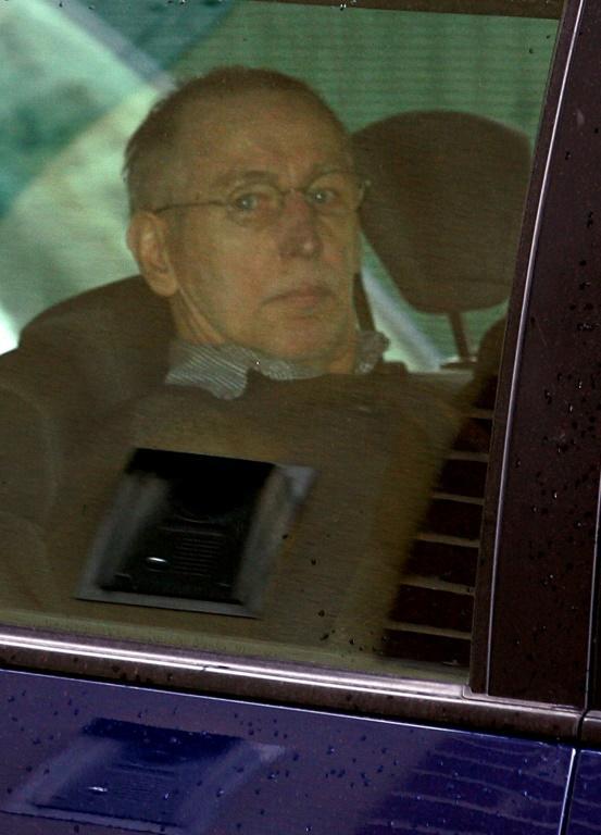 Le tueur en série Michel Fourniret le 29 mai 2008 à son arrivée au palais de Justice de Charleville-Mézières  [ALAIN JULIEN / AFP/Archives]
