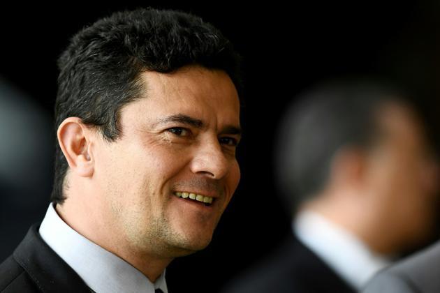 Le juge spécialisé dans la lutte anticorruption Sergio Moro, nommé ministre brésilien de la Justice, à Brasilia le 4 décembre 2018 [EVARISTO SA / AFP/Archives]