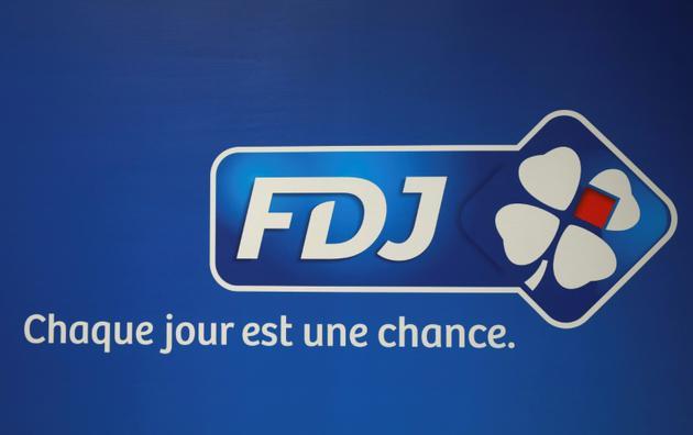 Le logo de la Française des jeux, photo prise à Pantin le 20 septembre 2016 [JACQUES DEMARTHON / AFP/Archives]