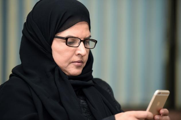 La militante saoudienne en faveur du droit des femmes  Aziza al-Yousef, à Riyad, le 27 septembre 2016 [FAYEZ NURELDINE / AFP/Archives]