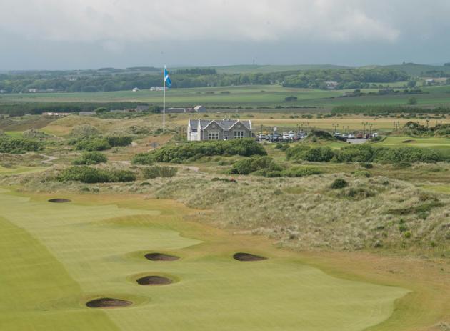 Le parcours de gold Trump International Golf Links, le 25 juin 2016 à Aberdeen, au nord-est de l'Ecosse [Michal Wachucik / AFP/Archives]