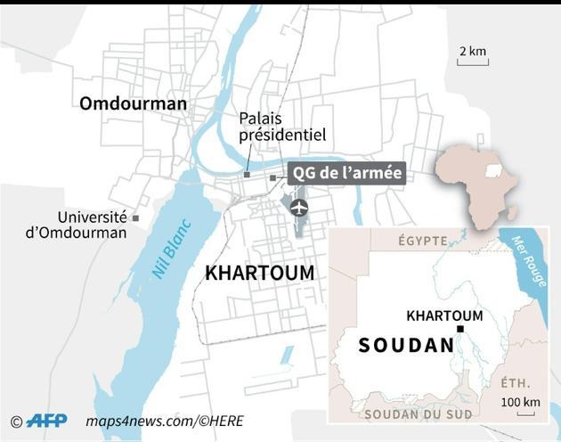 Khartoum [Vincent LEFAI / AFP]