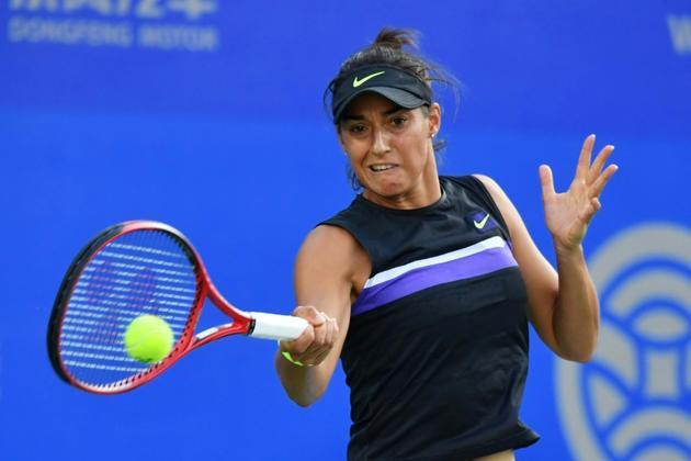 La Française Caroline Garcia lors du tournoi de Wuhan, le 22 septembre 2019  [HECTOR RETAMAL / AFP/Archives]