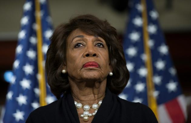 La démocrate Maxine Waters, à Washington le 9 janvier 2018 [Andrew CABALLERO-REYNOLDS / AFP/Archives]