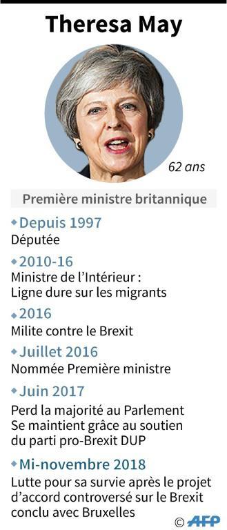 Theresa May [ / AFP]