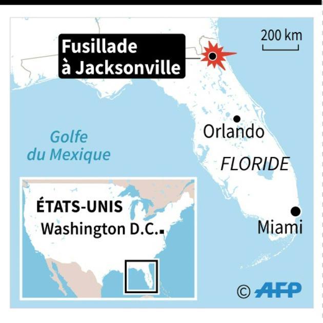 Etats-Unis : fusillade [Nicolas RAMALLO / AFP]