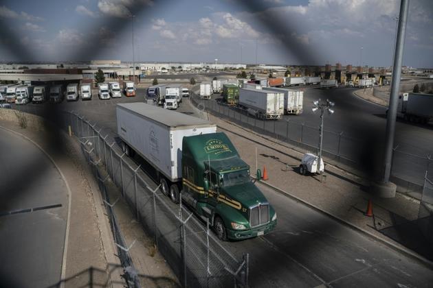 """""""Le Mexique va faire beaucoup d'efforts, et s'ils le font, cet accord sera un grand succès pour les Etats-Unis et le Mexique"""", a prédit Donald Trump [Paul Ratje / AFP/Archives]"""
