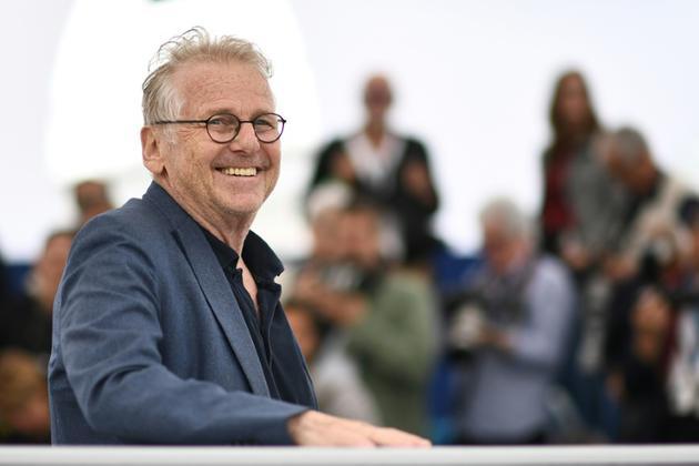 Daniel Cohn-Bendit en mai 2018 à Cannes lors de la présentation de La Traversée, documentaire coréalisé avec Romain Goupil [Anne-Christine POUJOULAT             / AFP/Archives]