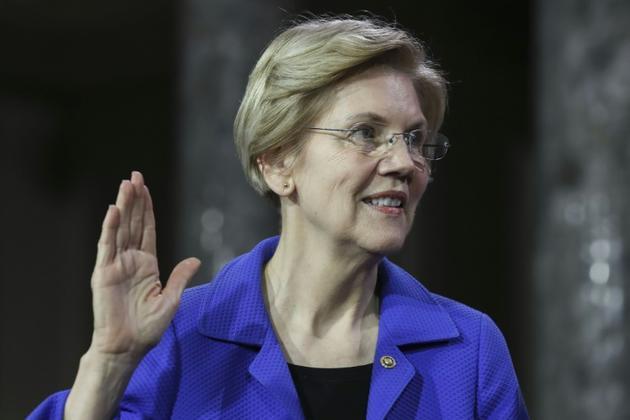 La sénatrice démocrate Elizabeth Warren, à Washington le 3 janvier 2019 [Alex Edelman / AFP/Archives]