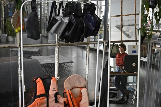 Dans l'atelier de mimycri à Berlin [Tobias SCHWARZ / AFP]