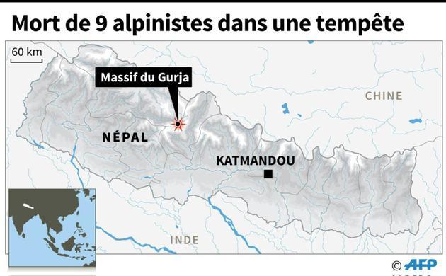 Des alpinistes meurent au Népal [AFP   / AFP]