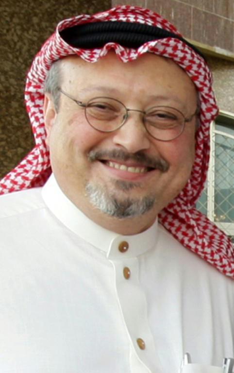 Le journaliste saoudien Jamal Khashoggi, le 16 mai 2010 à Ryad [STRINGER / AFP/Archives]