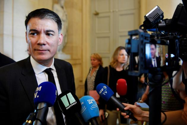 Le premier secrétaire du PS Olivier Faure à l'Assemblée nationale à Paris, le 31 juillet 2018 [GERARD JULIEN / AFP/Archives]