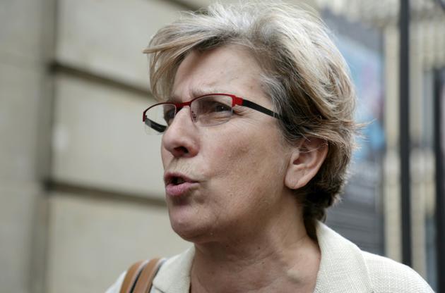 La sénatrice Marie-Noëlle Lienemann à Paris, le 24 juin 2017 [Zakaria ABDELKAFI / AFP/Archives]