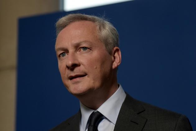 Le ministre de l'Economie Bruno Le Maire, le 25 février 2019, à Paris [ERIC PIERMONT / AFP]