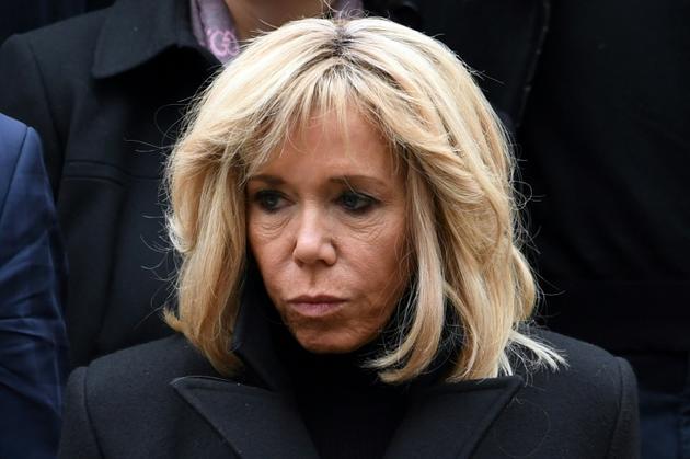 Brigitte Macron, à Paris, le 1er février 2019 [Alain JOCARD / AFP/Archives]