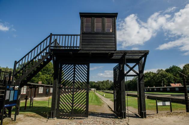 Le camp de concentration de Stutthof à Sztutowo en Pologne le 2 septembre 2016 [Mateusz Ochocki / KFP/AFP/Archives]