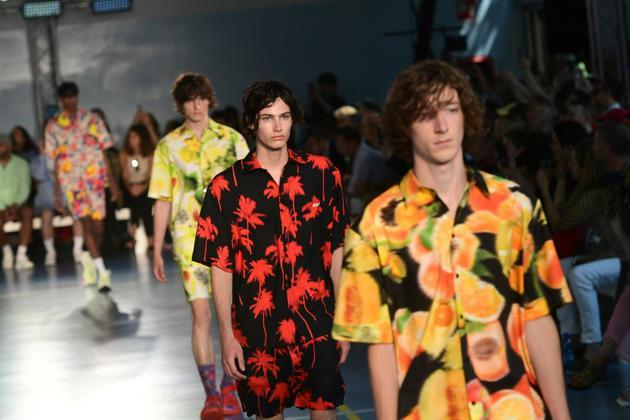 Défilé MSGM lors de la Fashion week de Milan, le 17 juin 2018 [MIGUEL MEDINA / AFP]