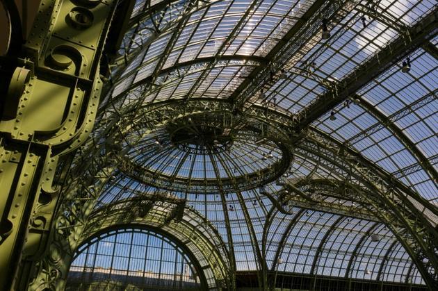 La verrière du Grand Palais, le 8 juillet 2019 à Paris [Eric Feferberg / AFP]