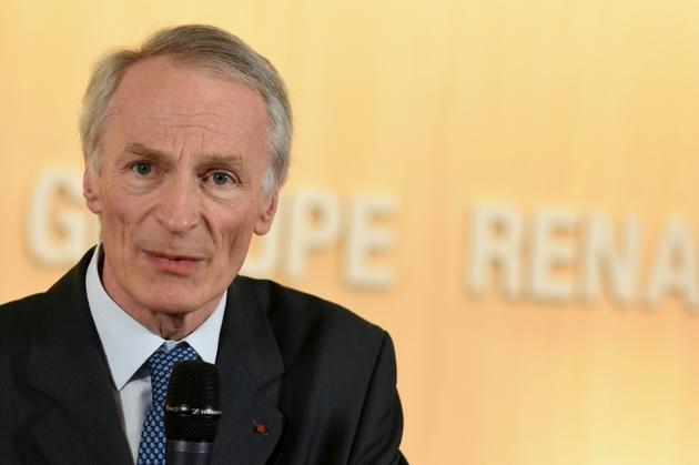 Jean-Dominique Senard, à Boulogne-Billancourt, le 24 janvier 2019 [Eric PIERMONT / AFP/Archives]