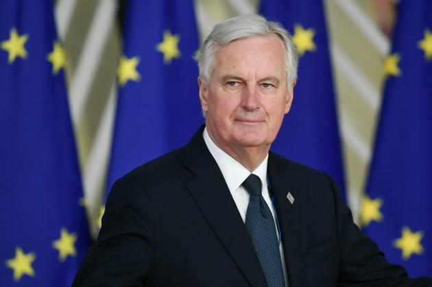 Michel Barnier négociateur pour le Brexit avec Londres, le 25 novembre 2018 à Bruxelles [Philippe LOPEZ / AFP/Archives]