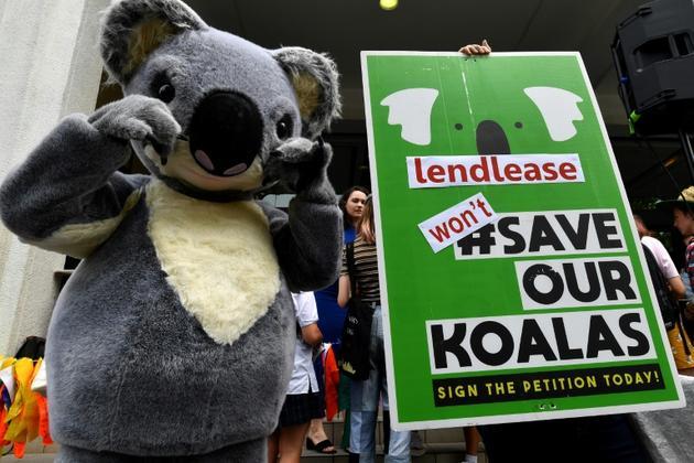 Manifestation contre le réchauffement climatique, le 29 novembre 2019 à Sydney, en Australie [Saeed KHAN / AFP]