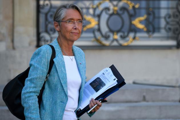 La ministre des Transports Elisabeth Borne, le 10 octobre 2018 à l'Elysée [Eric FEFERBERG / AFP/Archives]