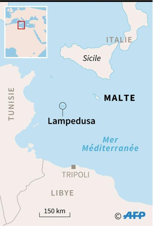 Lampedusa [Simon MALFATTO / AFP/Archives]