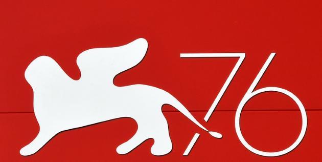 Le logo de la 76e édition de la Mostra de Venise, le 27 août 2019<br />  [Alberto PIZZOLI / AFP]